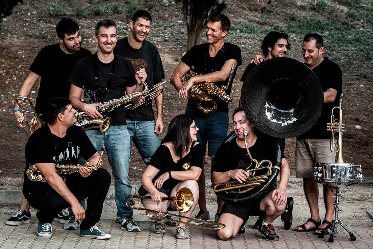 Fotografía corporativa para grupos musicales - Lambroten Brass Band