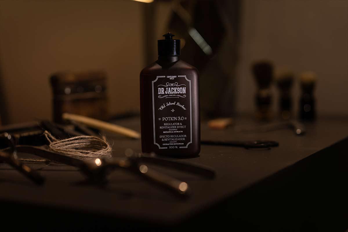 Dr Jackson fotografia de producto para la empresa de cosméticos dirigida al sector profesional